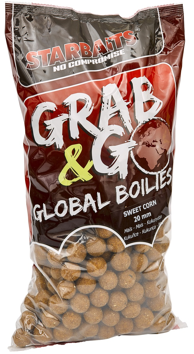 Global boilies SWEET CORN 20mm 2,5kg