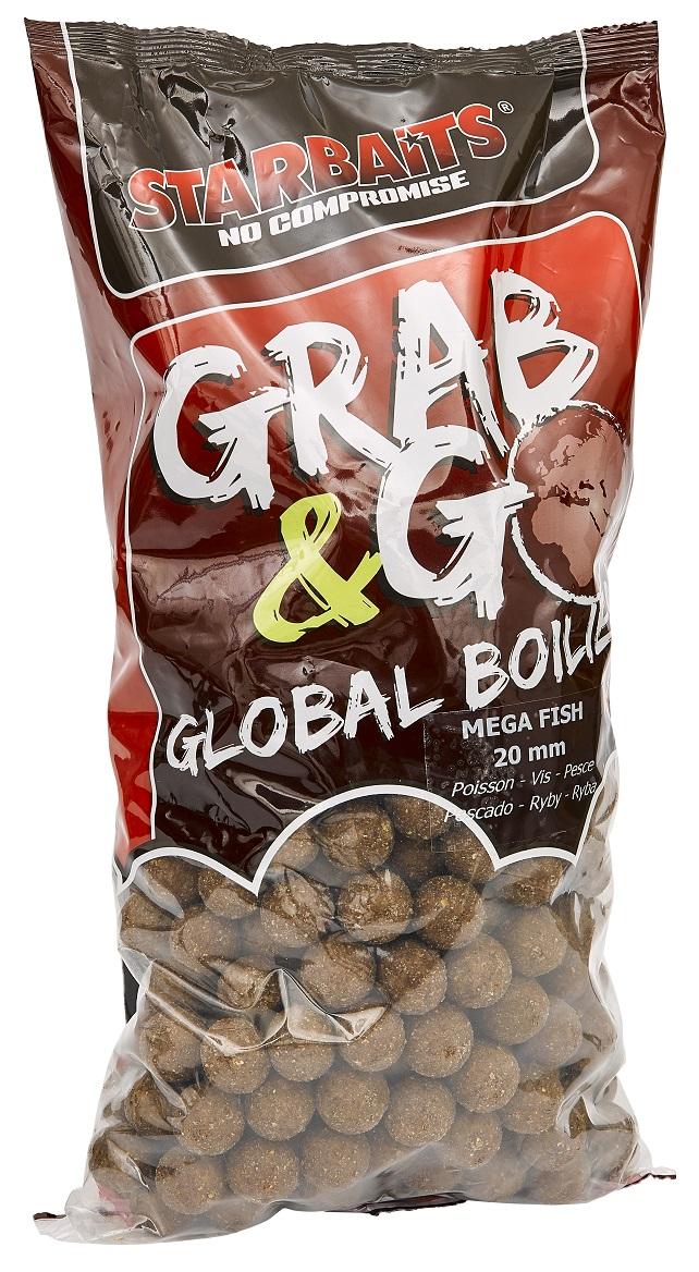 Global boilies MEGA FISH 20mm 2,5kg
