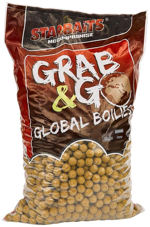 Global boilies BANANA CREAM 20mm 10kg