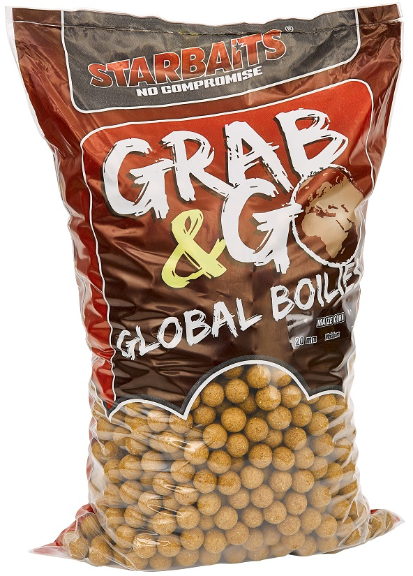 Global boilies SWEET CORN 20mm 10kg