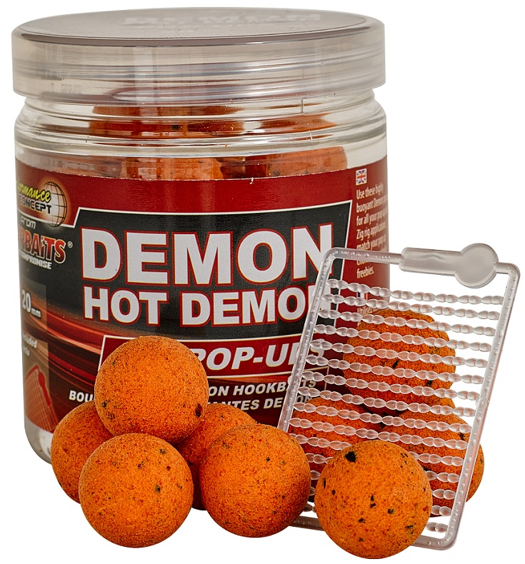 Plovoucí boilies STARBAITS Hot Demon 80g
