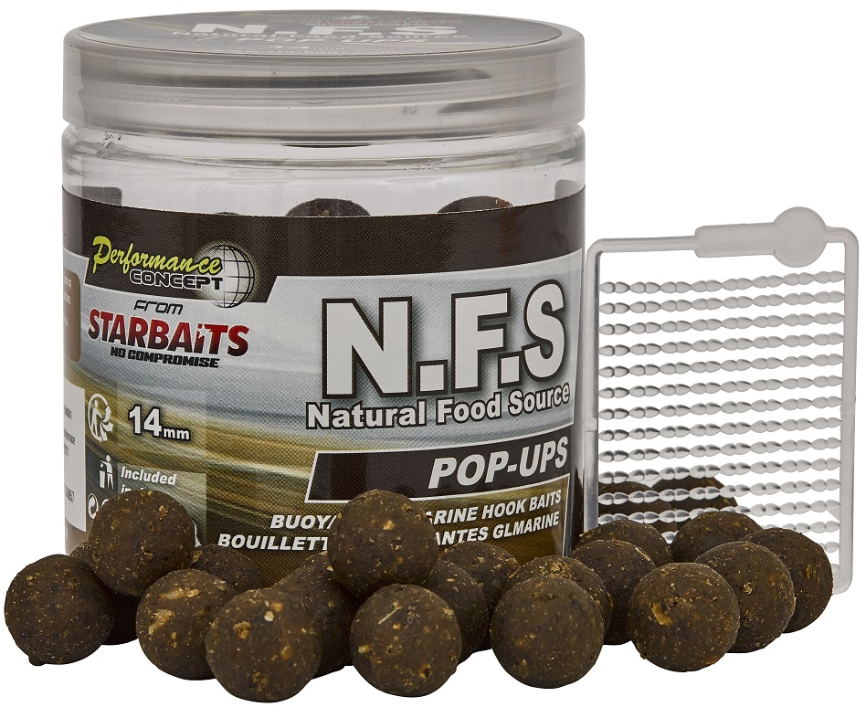Plovoucí boilies STARBAITS N.F.S 80g