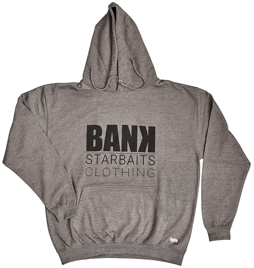 Mikina Starbaits Bank Square Hoodie Grey