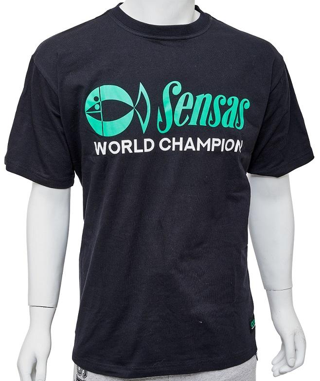 Triko Sensas World Champion Black