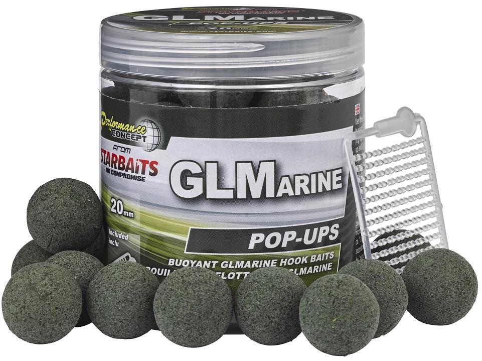 Plovoucí boilies STARBAITS GLMarine 80g