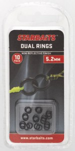 Dvojité kroužky - dual rings 5,2mm (10ks)