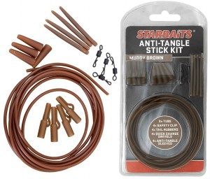 Anti Tangle Stick Kit hnědá (montáž)