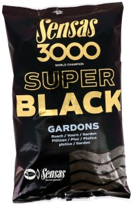 3000 Super Black (Plotice-černý) 1kg