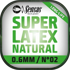 Amortizér Super Latex Natural 6m 0,8 mm