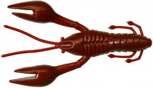 Hourra Craw 10cm Full Red Glitter