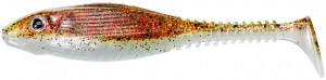 Grubby Shad SL 8,5cm Brown Sugar Green & Red Flk