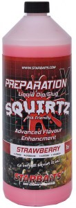 Booster PREP X SQUIRTZ STRAWBERRY 1L