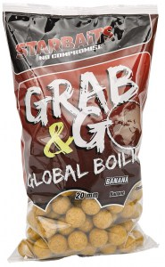 Global boilies BANANA CREAM 20mm 1kg