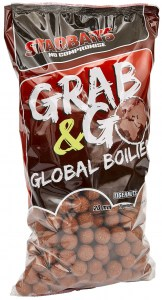 Global boilies TIGERNUT 20mm 2,5kg