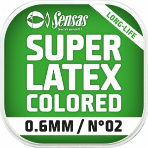 Amortizér Super Latex Fluo Red 6m 1,2 mm