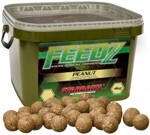 FEEDZ Boilies PEANUT 14mm 4kg