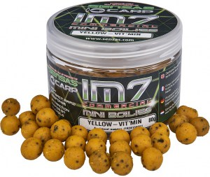 IM7 Mini Boilies Yellow-Vit'Min 80g