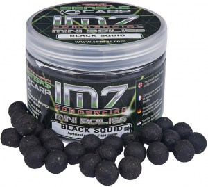 IM7 Mini Boilies Black Squid 80g