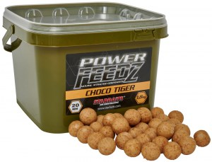 Boilies Power FEEDZ Choco Tiger 14mm 1,8kg