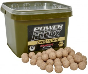 Boilies Power FEEDZ Vanilla Nut 20mm 1,8kg