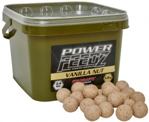 Boilies Power FEEDZ Vanilla Nut 24mm 1,8kg