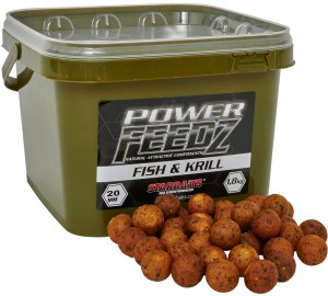 Boilies Power FEEDZ Fish&Krill 20mm 1,8kg