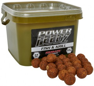 Boilies Power FEEDZ Fish&Krill 24mm 1,8kg