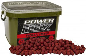 Boilies Power FEEDZ Indian Hemp 14mm 1,8kg
