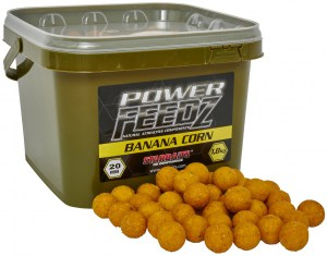 Boilies Power FEEDZ Banana Corn 20mm 1,8kg