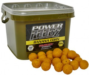 Boilies Power FEEDZ Banana Corn 24mm 1,8kg