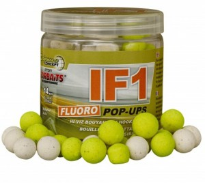 Plovoucí boilies Fluo STARBAITS IF1 80g