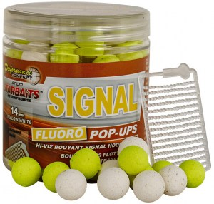 Plovoucí boilies Fluo STARBAITS Signal 80g