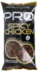 Boilies STARBAITS Probiotic Spicy Chicken 2,5kg