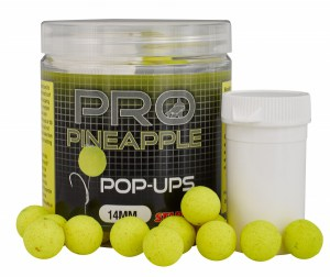 Plovoucí boilies STARBAITS Probiotic Pineapple 80g