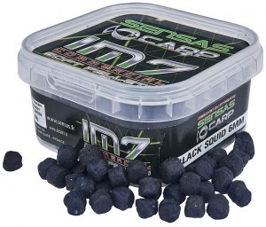 IM7 Soft Pellets Black Squid 60g