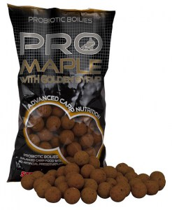Boilies STARBAITS Probiotic Maple 1kg